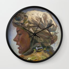 Scavenger Wall Clock