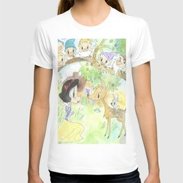 Snow White and the Seven Dwarves T-shirt