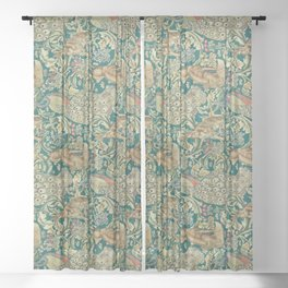 The Forest  William Morris Sheer Curtain