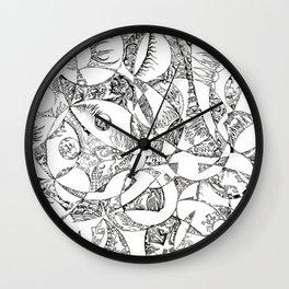 ' Chaoz Circlez ' By: Matt Crispell Wall Clock