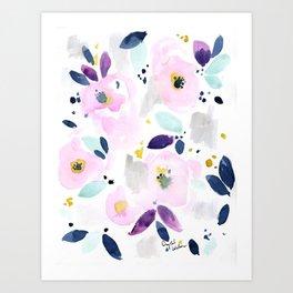 Mystical Floral Art Print