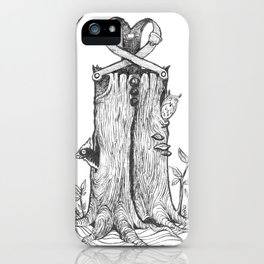 Haunted Clothing- The Eternal Wooden Pants iPhone Case