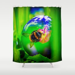 Mysterious World Shower Curtain