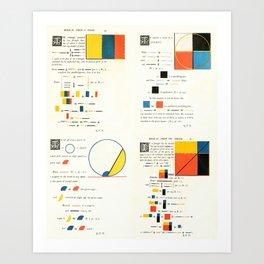 Euclidean joy Art Print