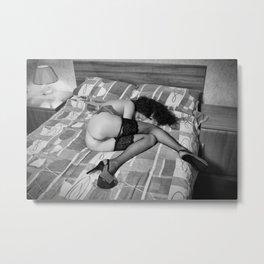 The Sleeper by MB Metal Print