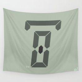 zero hours day glance Wall Tapestry