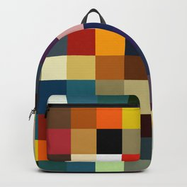 Colorful Tretris Keelut Backpack
