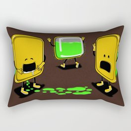 Radioactive Tupper Rectangular Pillow