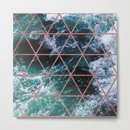 Bermuda Triangle Metal Print