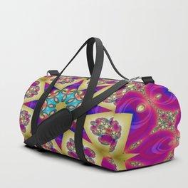 Guardians Of The Void Mandala 5 Duffle Bag