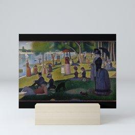 Seurat, la Grande Jatte Mini Art Print
