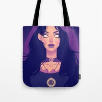 witchcraft Tote Bags featuring Witchcraft by Desirae