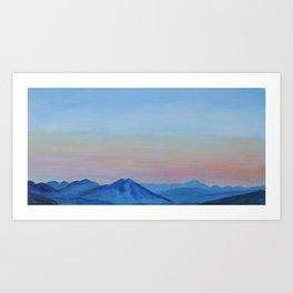 Sunrise Near the Blue Ridge Parkway Art Print