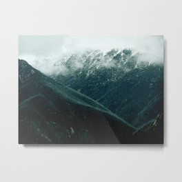 aussie mountains Metal Print