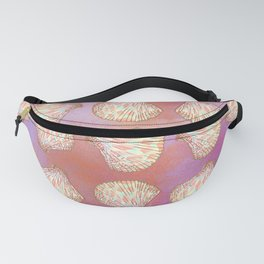 Seashells pattern Fanny Pack