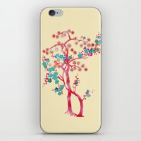 asian iPhone & iPod Skins featuring Asian Tree by Mimi Matloob Designs