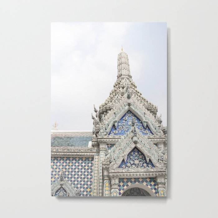 Painted Tiles in the Grand Palace Metal Print