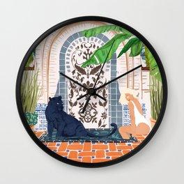 Frienaissance #painting #wildlife #illustration Wall Clock