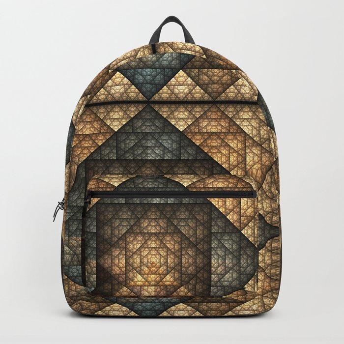 Church Window Pattern Backpack