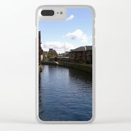 Leeds Canal Clear iPhone Case