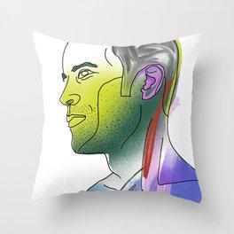 Jack Johnson Throw Pillow
