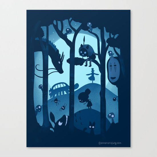 Magical Gathering Canvas Print