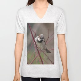 Brave House Sparrow Unisex V-Neck