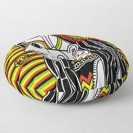 Rasta Floor Pillow
