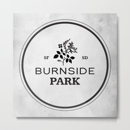 Burnside Park Metal Print