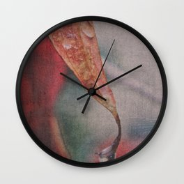 Moody Autumn Colors Wall Clock