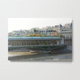 Pont de Bir-Hakeim, Paris Metal Print