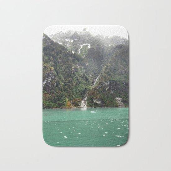 Green Landscape Bath Mat