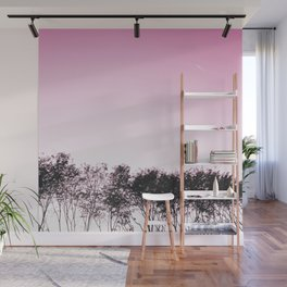 Lovely pink sky Wall Mural