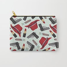 Peggy Carter Pattern Carry-All Pouch