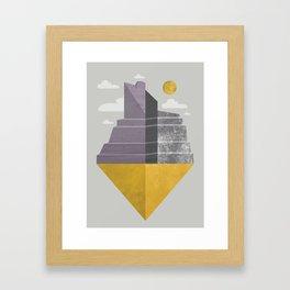 Grand Canyon slice Framed Art Print