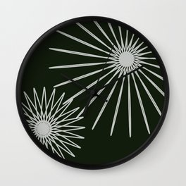 Natural White Wall Clock