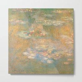 Water Lilies Claude Monet 1908 Metal Print