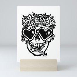 Sweet Tooth ~ Black Mini Art Print