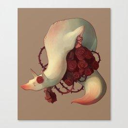 Fox Roses Canvas Print