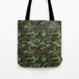 U.S. Woodland Camo Tote Bag