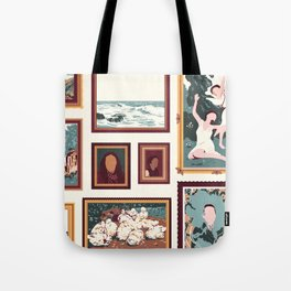 "Sanctuary XXIX - ""Gallery Wall"" Tote Bag"