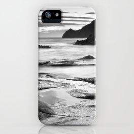 """Vela Blanca Tower"". Bw iPhone Case"