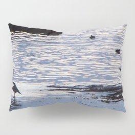 Heron wing display Pillow Sham