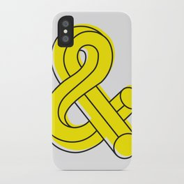 Ampersand iPhone Case