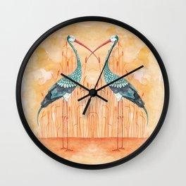 An Exotic Stork Wall Clock