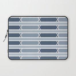 Venice Blue Stripe Laptop Sleeve