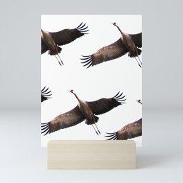Cranes in flight #decor #society6 Mini Art Print