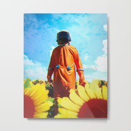 SUNNY SPACEOUT Metal Print