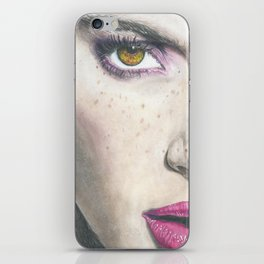 the eyes  iPhone Skin