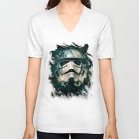 trooper V-neck T-shirts featuring Trooper by Sirenphotos